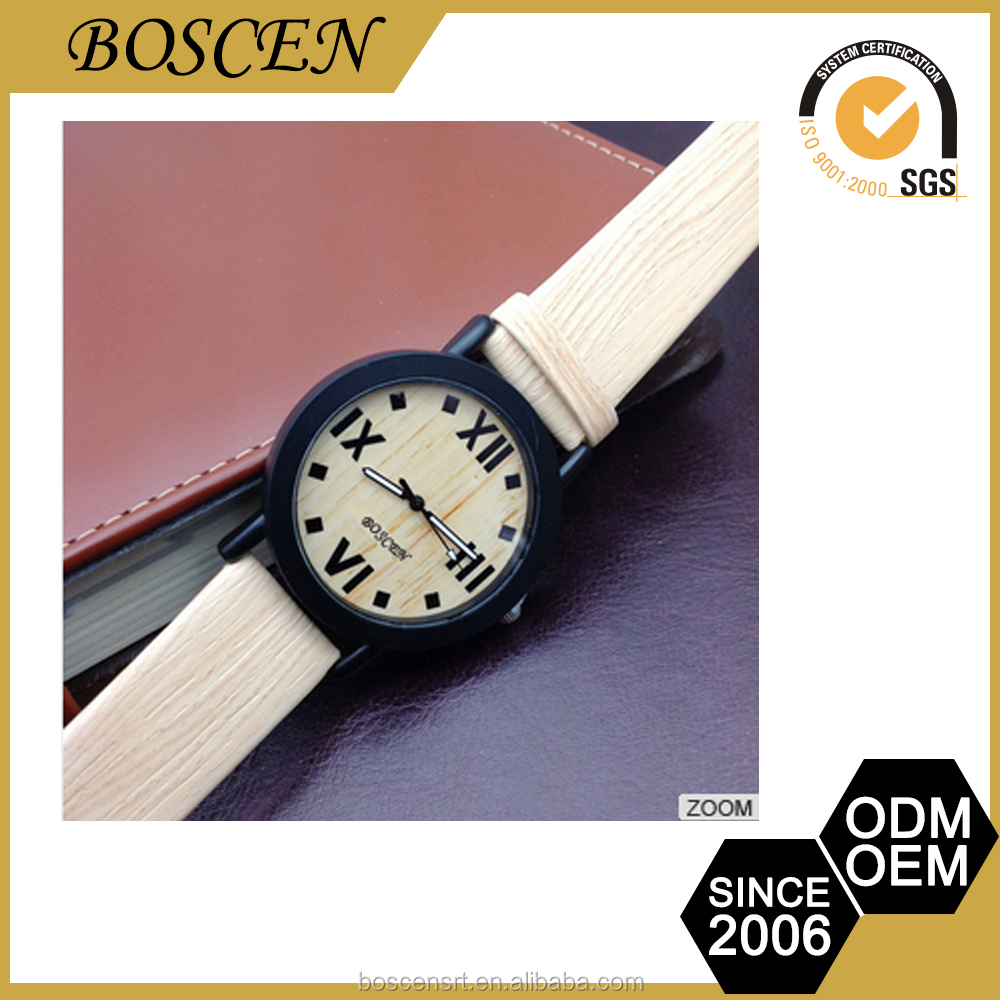 luxury wooden wrist watch for man