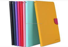 mercury goospery fancy diary leather case,pouch wallet case for ipad air ipad5