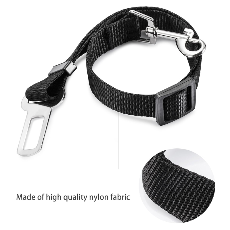 Adjustable Safety Seatbelt Pet Dog Car Seat Belts
