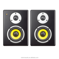 High quality Cheapest audio speaker 2-way Powered DJ Monitors Digital Multimedia active studio monitors Speakers Made In China