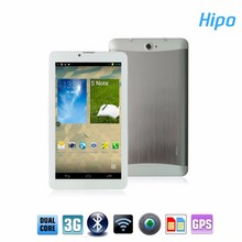 Hipo Cheap Ultra Slim Max Touch 7inch Video Call Phone Tablet PC with GPS 3G GSM Support