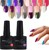 Fashional gel color beauty salon nail gel polish 108 colors uv gel varnish