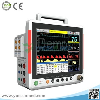 Good price medical portbale touchscreen patient monitor