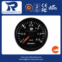 2016 best quality for cars smooth needle movement boost gauge