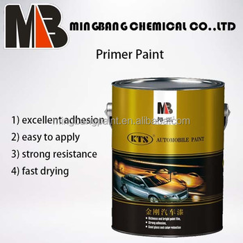 Metallic epoxy primer 2k for cars