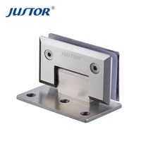 304 stainless steel high quality shower glass hinge JU-W202