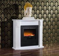 2015 new design freestanding electric fake flame fireplace for home