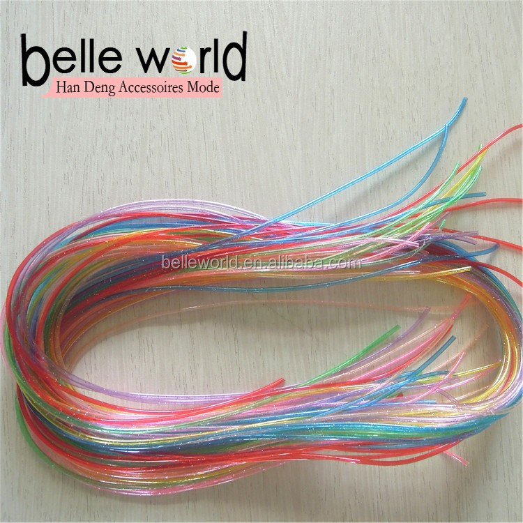 DIY Knit Plastic PVC Strings Scoubidou without Phalates