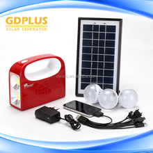 Led Solar Home Lighting System good supplier solar dc lighting kit with lamp and charger solar kit for home