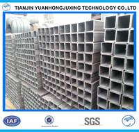 Q235 SS400 BS1387 25mm*25mm mild carbon square steel pipe