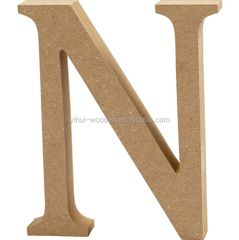 DIY Wall Decor Letter Wooden Alphabet Letters/ Numbers Large Wooden Numbers