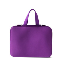 Pure color design laptop bags for ladies laptop sleeve 11.6