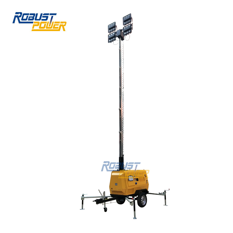 OEM Japan Brand Heavy Duty Truck Mounted Light Tower