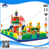 Guangzhou factory prices kids game bouncy castle prices