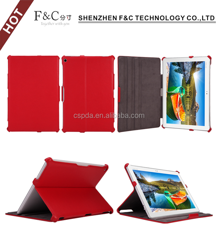 Alibaba hot selling auto sleep/wake feature stand folio tablet cover for Asus ZenPad 10 leather case