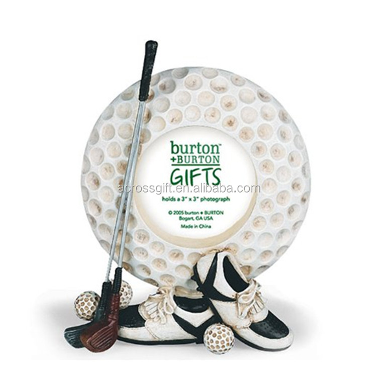 polyresin Golf Ball Picture Photo Frame Great Golfing Gift