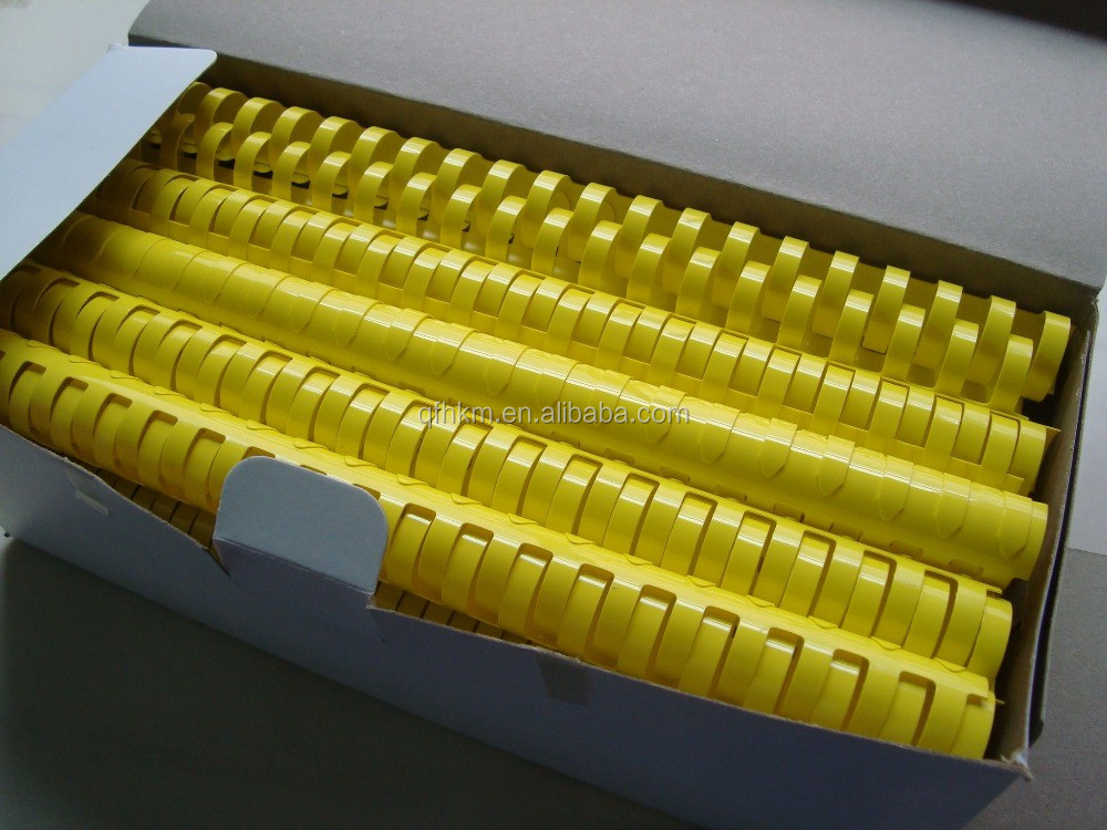 8mm 10mm 12mm A4 21Rings Hot Selling China Plastic Binding Combs