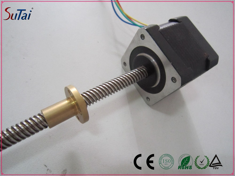 Micro Hybrid Stepper Motor Linear Actuator Nema16 39mm: servo motor linear actuator