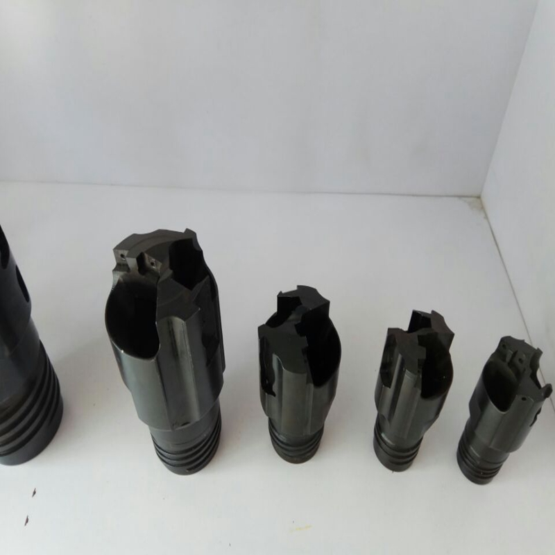 Indexable bta drill head / drilling head / drill bit for deep hole drilling machine
