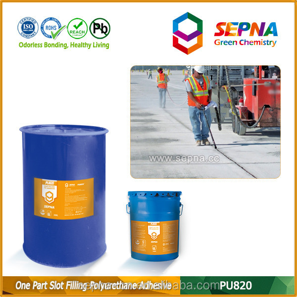 Road repairing liquid pourable expansion joint sealant crack sealant