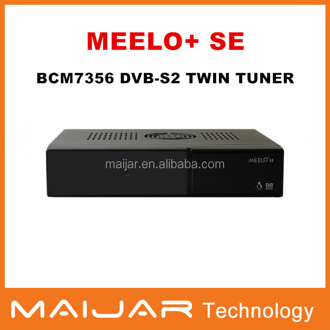 Original Meelo+ se same as VU SOLO 2 SE Software Twin tuner Satellite Receiver Linux 1300 MHz CPU two CA