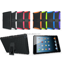 Non-slip Shatterproof 2in1Hybrid Combo Drop Resistance Function Hard Tablet For Kids iPad Air, For ipad 5 Spider Tattoo Cases