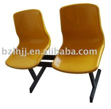 factory wholesale K/D style plastic waiting chair(1110A)