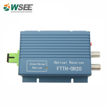 2017 best price FTTH fiber optic video transmitter receiver