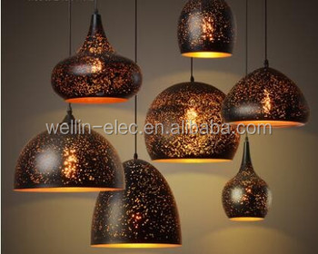 Industrial Metal Chandelier for Restaurant, Vintage Pendant Light Manufacturer