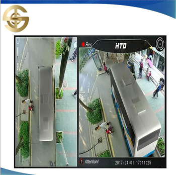 Multi Angle Car Camera 3D View Surround System 360 Degree Bird View Panorama For BUS And TRUCK