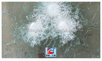 Bullet proof glass for building