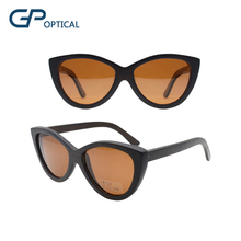 GW0021 Handmade real bamboo wood women sunglasses
