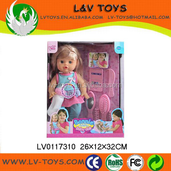 alibaba china Cute Bonnie baby doll For children