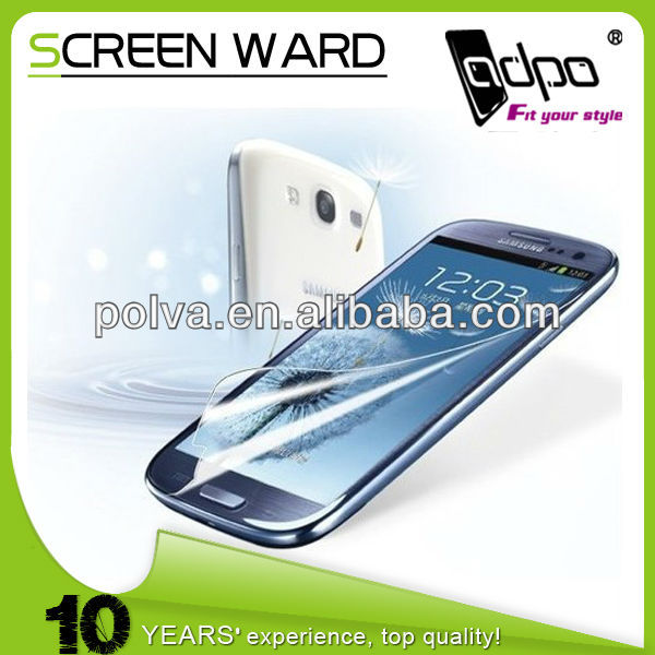 Clear LCD Screen Skin Protector Film Guard For Samsung Galaxy S3 i9300 SIII