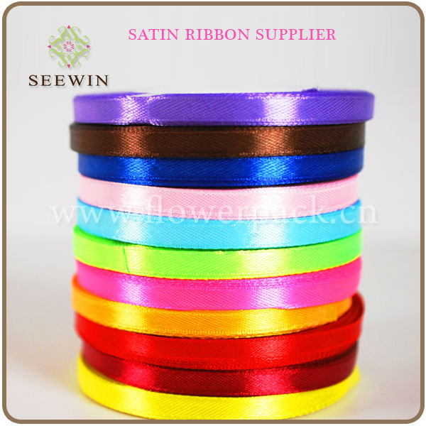 Double sided satin ribbon supplier