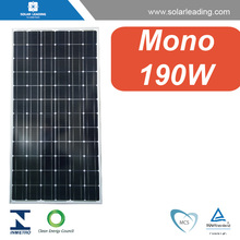 MCS approved 190w sharp solar panel bracket connect to grid solar inverter for pv solar panel system on grid