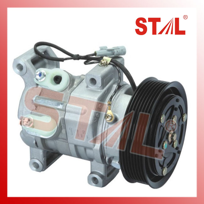 10S11C ST110302 PV7 149MM 12V R134a Auto Silent Air Compressor