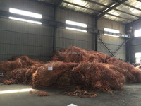 Pure copper wire scrap mill berry 99.9%