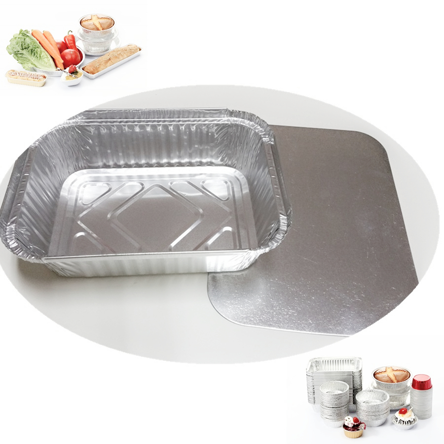 Guangzhou Xiang Cheng Foil Aluminum Packing model 2650 take away bowls take away chinese food box foil bowls