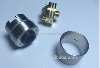 Precision Stainless steel/brass custom cnc turning machining for electronic cigarette atomizer parts