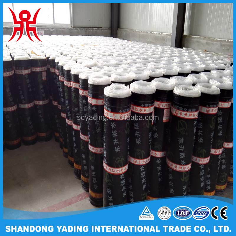 SBS / APP bitumen waterproof membrane produced by machine for roof