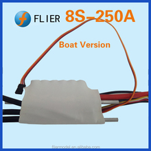 1:8 RC Boat 250A Motor Speed Controller ESC for R/C Hobby 1/10