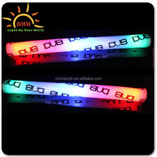 hot 2016 products logo branded led glow foam sticks for party night club concerts 2016 led foam glow stick blinking led stick