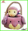 LE C1604 sheep toy basket , plush sheet toy for 2015