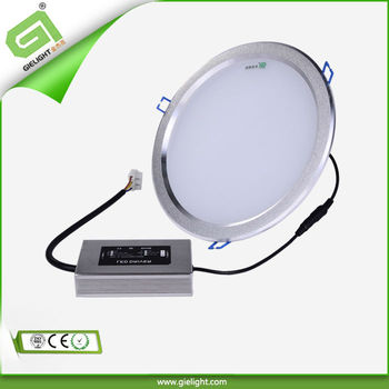 Ultra slim led downlight 12 watt 2700-6500k 100-240Vac 2 years warranty