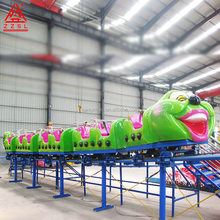 Amusement park cheap wacky worm roller coaster for sale