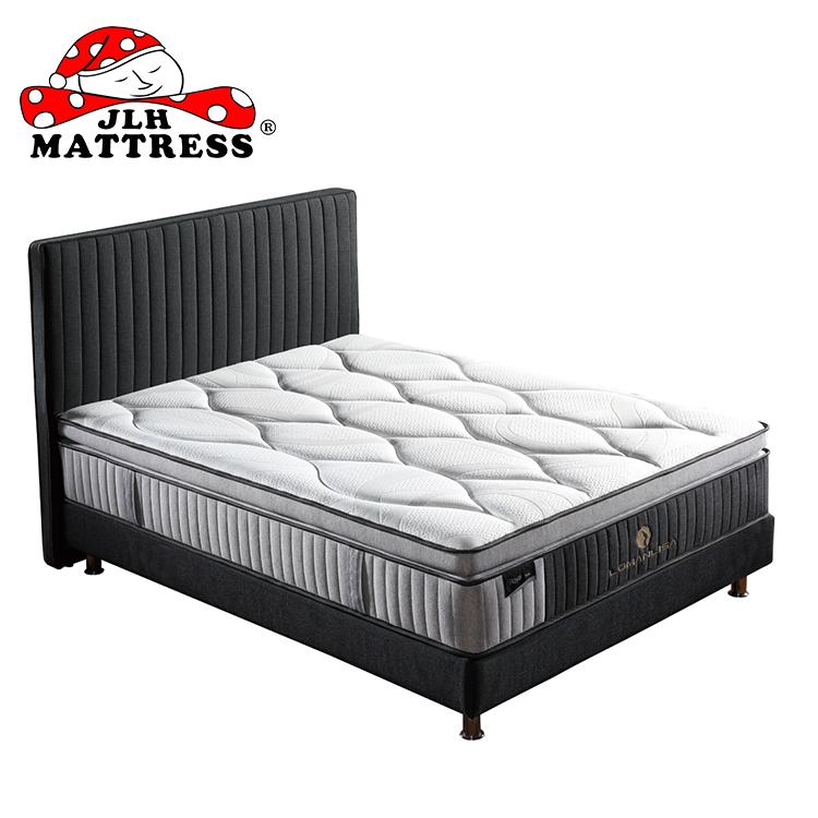 Luxury natural latex queen size pocket spring mattress - Jozy Mattress | Jozy.net