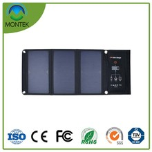 21W Folding Solar Charger for 5V Mobile Devices