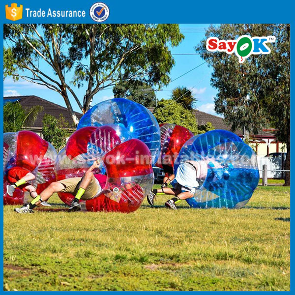 adult size knocker body cheap giant human body wubble inflatable human bubble soccer ball