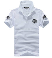 Factory Direct Price 100% Cotton 200GSM White Polo T Shirts Main In China High Quality Polo Shirts